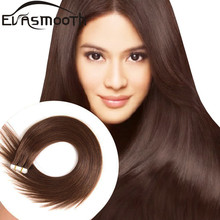 Skin-Weft-Machine Hair-Extensions Adhesive Tape-In Remy EVASMOOTH 20pcs 12-/16-/20-
