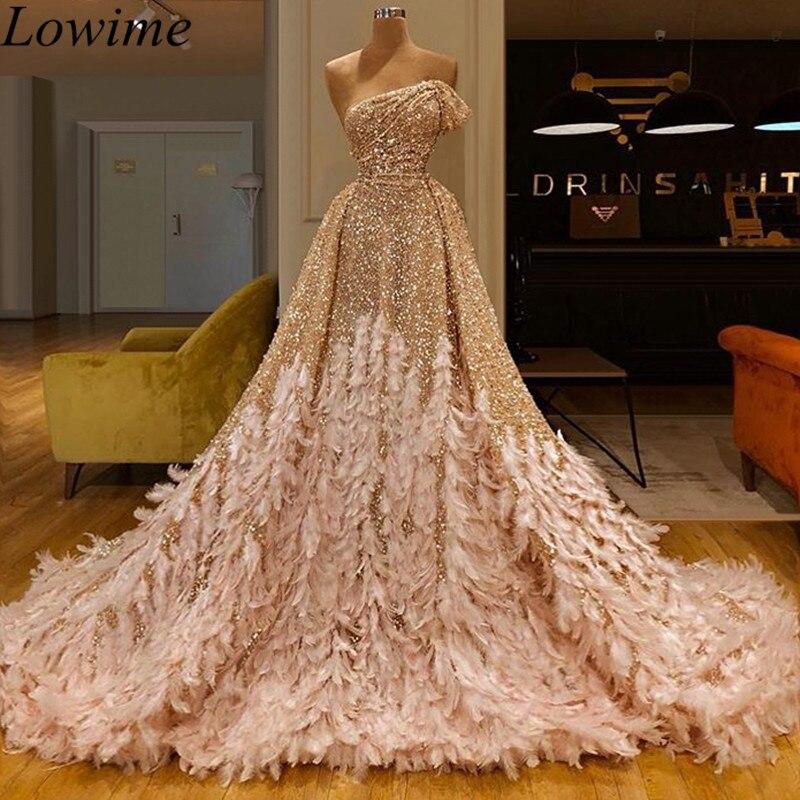 Gorgeous Glitter Arabic Celebrity Dresses Long Mermaid Kaftan Abendkleider Off Shoulder Red Carpet Gowns Turkish Evening Dress