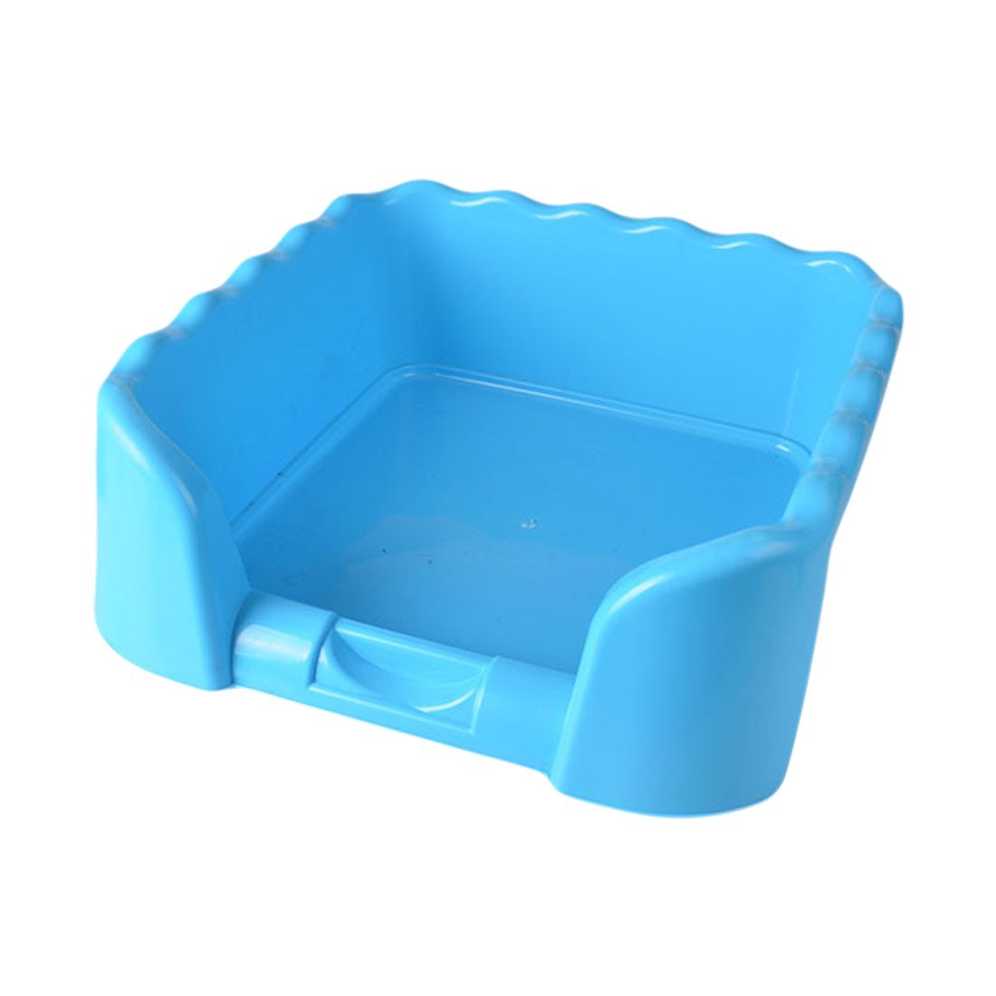 Portable Puppy Training Tray with Fence for Pet Dogs and Cats Potty and Pee Training Indoor 5