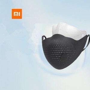 Image 2 - Xiaomi mijia airpop 空気着用 PM0.3 / pm2.5 抗ヘイズと 2 個フィルターアジャスタブル耳かけ快適なフェイスマスク
