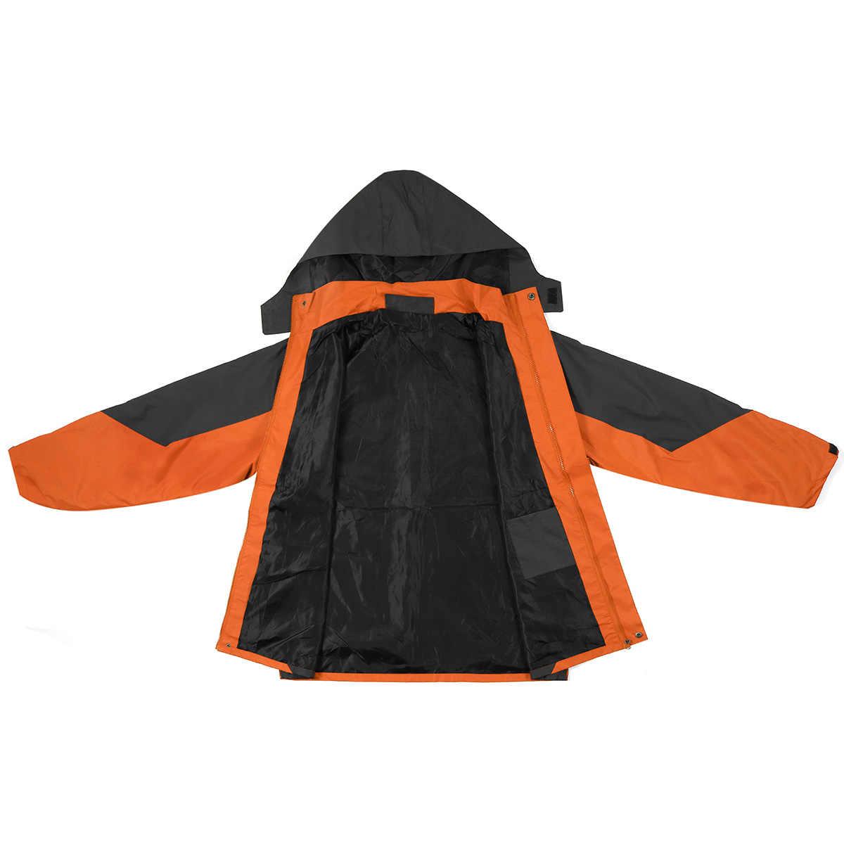 Hangat Ski Jacket Pria Wanita Jaket Tahan Air Salju Bulu Lined Coat Outdoor Snowboard Kain Tahan Angin Musim Dingin Hangat Salju Cocok