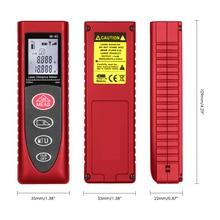 цена на Mini tape measure rangefinder metro laser distance meter electronic tape measure digital laser rangefinder tester measure