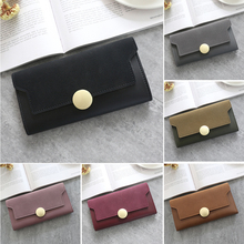 Women Vintage Wallets New Fashion Long Style Multi-functional Female Wallet Purse Fresh PU leather Clutch Card Holder