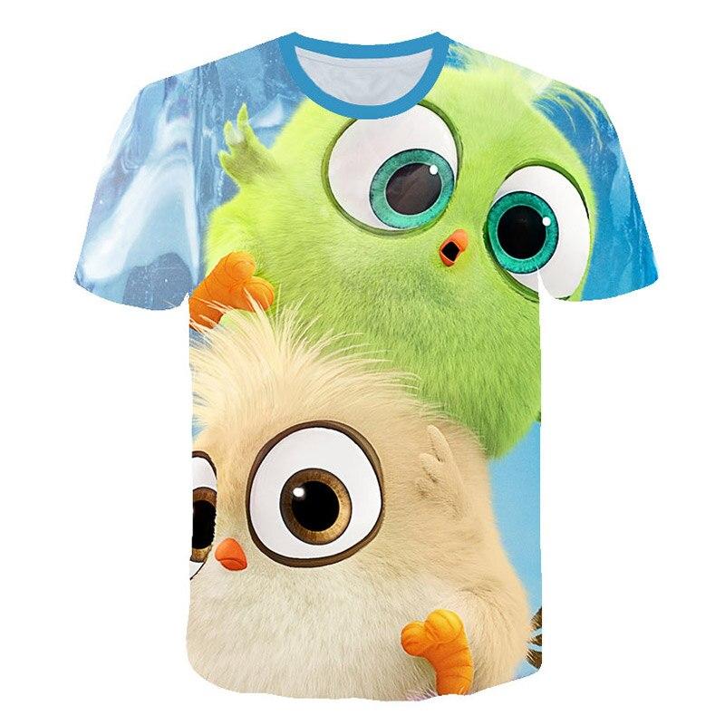 3D baby clothing, Bird Print T-shirt, new, movie