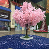 10pcs 150cm simulation Cherry trees for weddings pink & white color