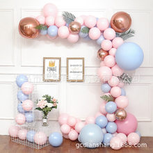Macaron Balloons Set Candy Color Latex Balloons Inflatable Balloon Baby Shower Girl Birthday Wedding Party Decoration(China)