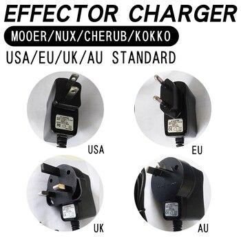 MOOER effect charger NUX Cherub KOKKO USA standard EU standard UK standard AU standard general charging head фото