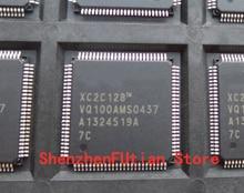 1pcs/lot XC2C128-7VQG100C XC2C128-7VQG100I XC2C128-7VQ100C XC2C128-7VQ100I New and original QFP100 1pcs lot msv 0505 original