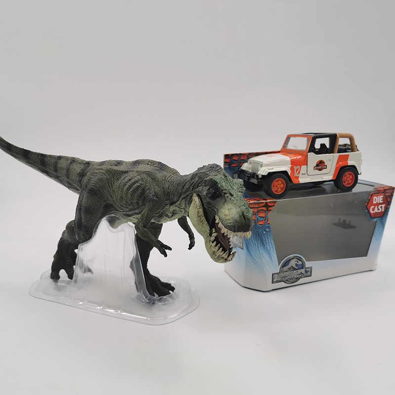 1/43 スケール 12.2 センチメートル合金金属ダイキャストジープラングラージュラ紀suv自動車モデルの子供のためのおもちゃギフトコレクション