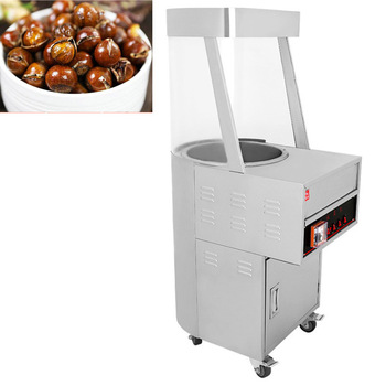 220V Commercial Sugar Fried Chestnut Machine Single Head Vertical Multifunction Electro-Thermal Sugar Frieding Chestnut Machine недорого