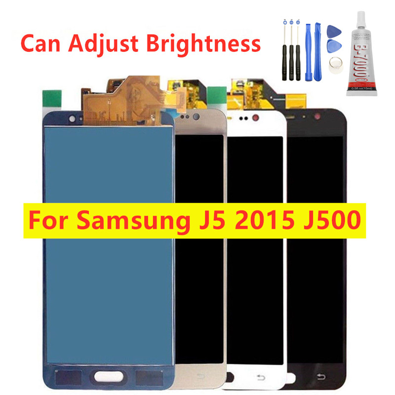 100% Tested <font><b>LCD</b></font> With Touch Screen Digitizer For Samsung Galaxy J5 2015 J500 <font><b>J500F</b></font> J500FN J500H J500M <font><b>LCD</b></font> Display Assembly Parts image