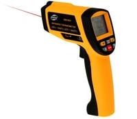 Aletler'ten Sıcaklık Cihazları'de Profesyonel kızılötesi termometre USB dijital ekran ısı tabancası el kızılötesi IR sıcaklık ölçer 30 ~ 1650 santigrat