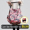 2021 стильные складные многоразовые Экологически чистые Водонепроницаемый рюкзак для шоппинга Сумка-тоут Бакалея складная сумка для хранен...