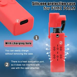 Image 4 - Защитный чехол для FIMI Handheld Gimbal Camera, противоударный чехол, защитный чехол для карманной камеры, задняя крышка