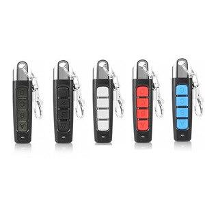 Image 1 - 1 pçs controle remoto porta da garagem abridor de porta de controle remoto duplicador clone código clonagem chave do carro 433mhz eletrônica inteligente