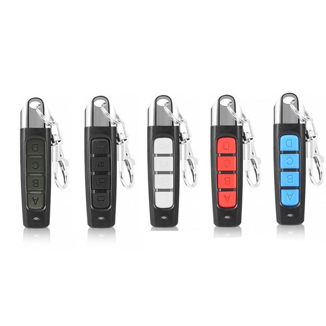 1PCs Remote Control Garage Gate Door Opener Remote Control Duplicator Clone Cloning Code Car Key 433MHZ Smart Electronics