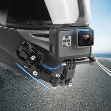 Full Face Helmet Chin Mount Holder for GoPro Hero 9 8 7 6 5 SJCAM Motorcycle Helmet Chin Stand Camera Accessories for Go Pro 5
