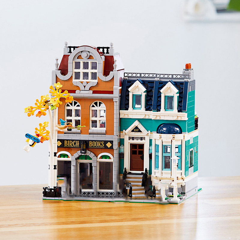 Toy Brick Book Shop <font><b>10270</b></font> City Street View Building Blocks Assemble Gift image
