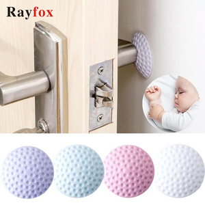 Kitchen Gadgets Accessories Mute Door Lock Wall Protective Pad Home Fenders Protection Creative Golf Styling Home Decoration ST.