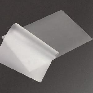 Image 2 - 100 ピース/ロット 50 マイク、 a4 熱ラミネートフィルムペット用/ファイル/カード/写真積層ロールフィルムプラスチックフィルム Plastifieuse