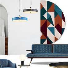 Modern Creative Iron Art White Black Pendant Lights Nordic Louis Decoration Dinning Room Cafe Pendant Light Home Light Fixtures