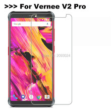 For Vernee V2 Pro Tempered Glass Cover 9H 2.5D Ultra-Thin Front Phone Films Screen Protector For Vernee V2 Pro Case Mobile Phone Film(China)