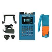Professionelle Tragbare LCD Digital Handheld Netzwerk Analysator KC901M 9,8 GHz RF multimeter