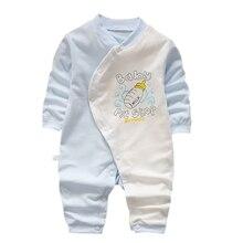 Autumn Baby Toddler Onesies Cotton Romper Boy Girls 3-12M Kids Clothes Infant Cartoon Long Sleeve Jumpsuit Boys Girl Clothing цена 2017