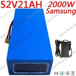 Batterie au lithium 48V 2000W 1000W batterie de vélo électrique 52V 20Ah batterie de Scooter électrique 52V avec chargeur 50A BMS et 5A