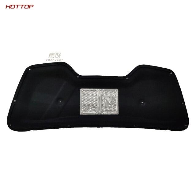 Folha de alumínio + pet preto motor frontal anti-ruído isolamento acústico algodão calor fechado célula espuma para kia sportage r 2011-2016