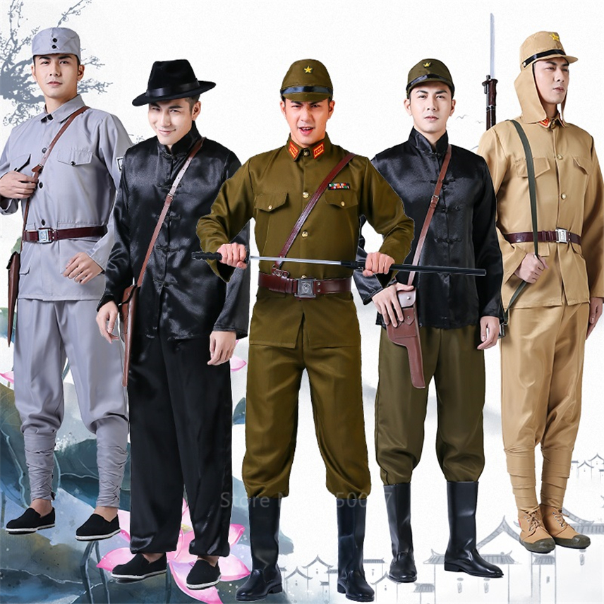 13Style Ww2 Stage Performance Clothing Japanese Soldier Army Traitor Officer Military Uniform Funncy Cosplay Party Costumes