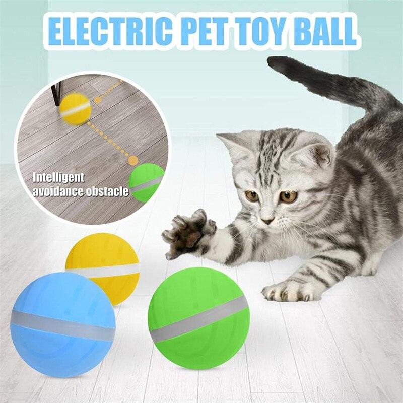 Bola automática para gatos