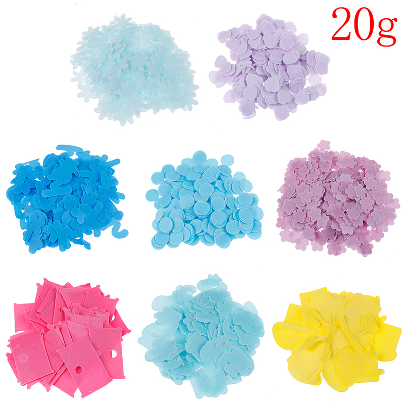 20g Travel Scented Soap Paper Bath Child Hand Washing Soap Paper Portable Petal Soap Flower Shape Fruity Odour