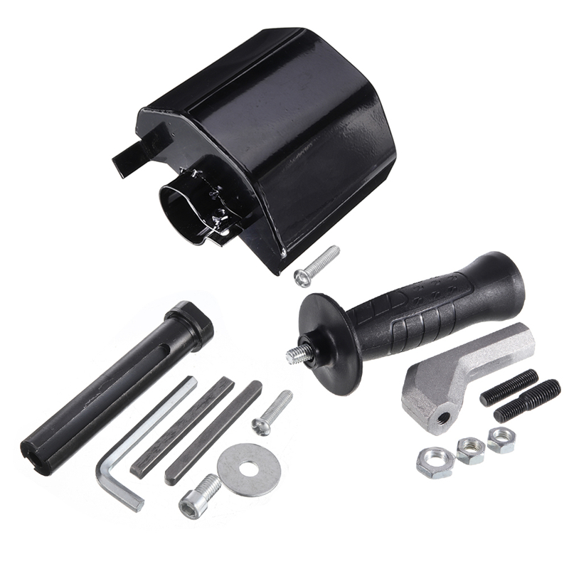 M10/M14 Parts For Angle Grinder's Hand Held Linear Polisher Device Angle Grinder Adapter Protective Cove Tool Accessories