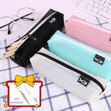 new pencil cases pen bag to school supplies box pouch boxes case for kids kawaii canvas bags pencilcase