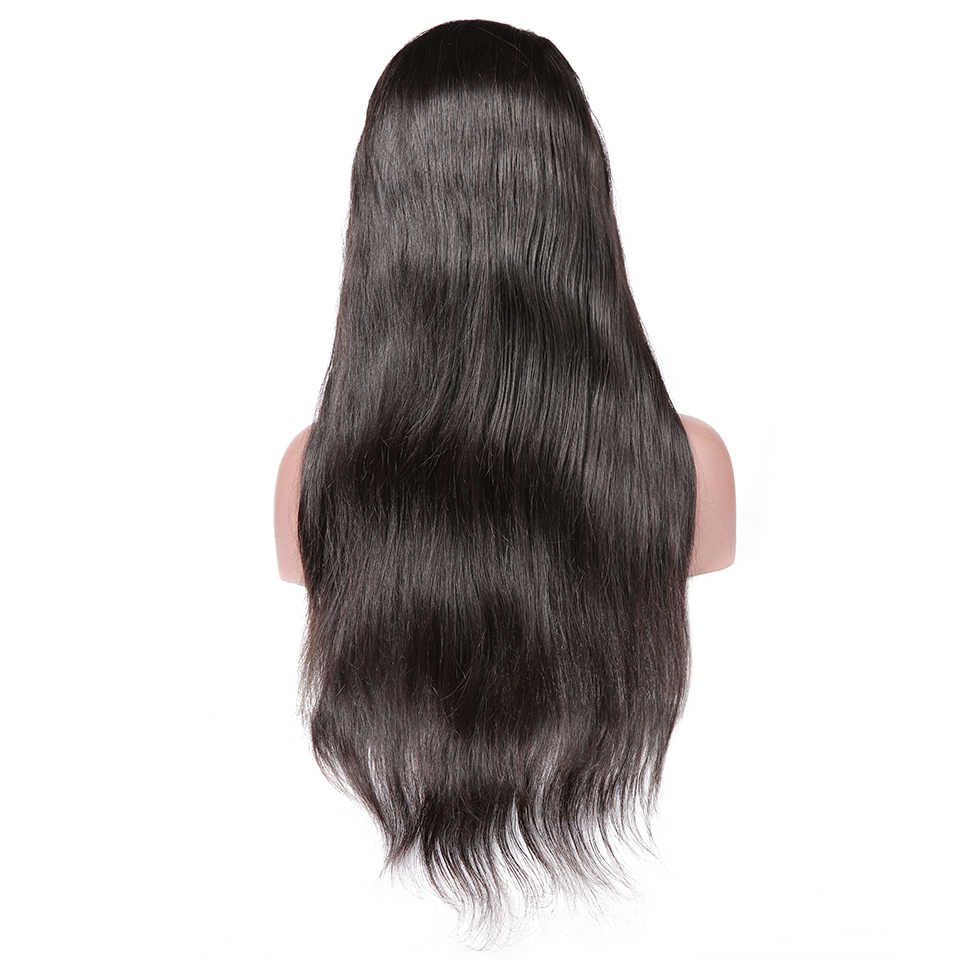 Pre Plucked ลูกไม้ Wigs ผมมนุษย์ตรงบราซิลโปร่งใสลูกไม้วิกผม Glueless วิกผมลูกไม้เต็มรูปแบบดีเจความงาม