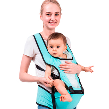 Ergonomic Kangaroo Baby Carrier Waist Stool Walkers Belt Hip Seat Baby Sling Pouch Wrap Holder for 0-3 Months Newborn Kids Cover