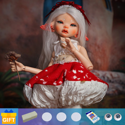 Doll BJD Shuga Fairy Yaho Dust of Doll Coti 1/6 fantasy head cosmetics dolls professional makeup Toy Gifts movable joint doll
