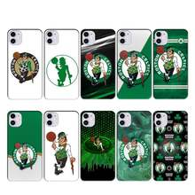 CELTICS BOSTON case coque fundas for iphone 11 PRO MAX X XS XR 4S 5S 6S 7 8 PLUS SE 2020 cases cover(China)