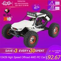 WLtoys nuovo 12429 1:12 4WD RC Car 2.4G Radio ad alta velocità fuoristrada arrampicata RC auto telecomando auto elettriche giocattoli per bambini adulti