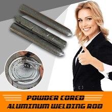 3PCS Powder Cored Aluminum Welding Rod Low Temperature Easy Melt Aluminum Welding Rods No Need Solder Powder Dropshipping