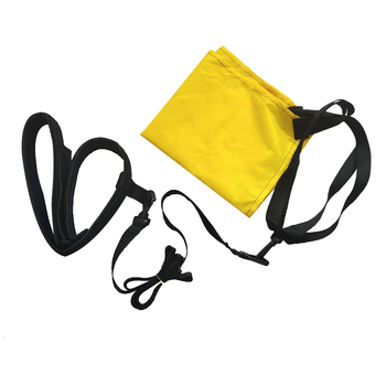 Outdoor With Drag Parachute Strength Training Swimming Pool Safety Swim Resistance Belt Adjustable Size Webbing Exerciser
