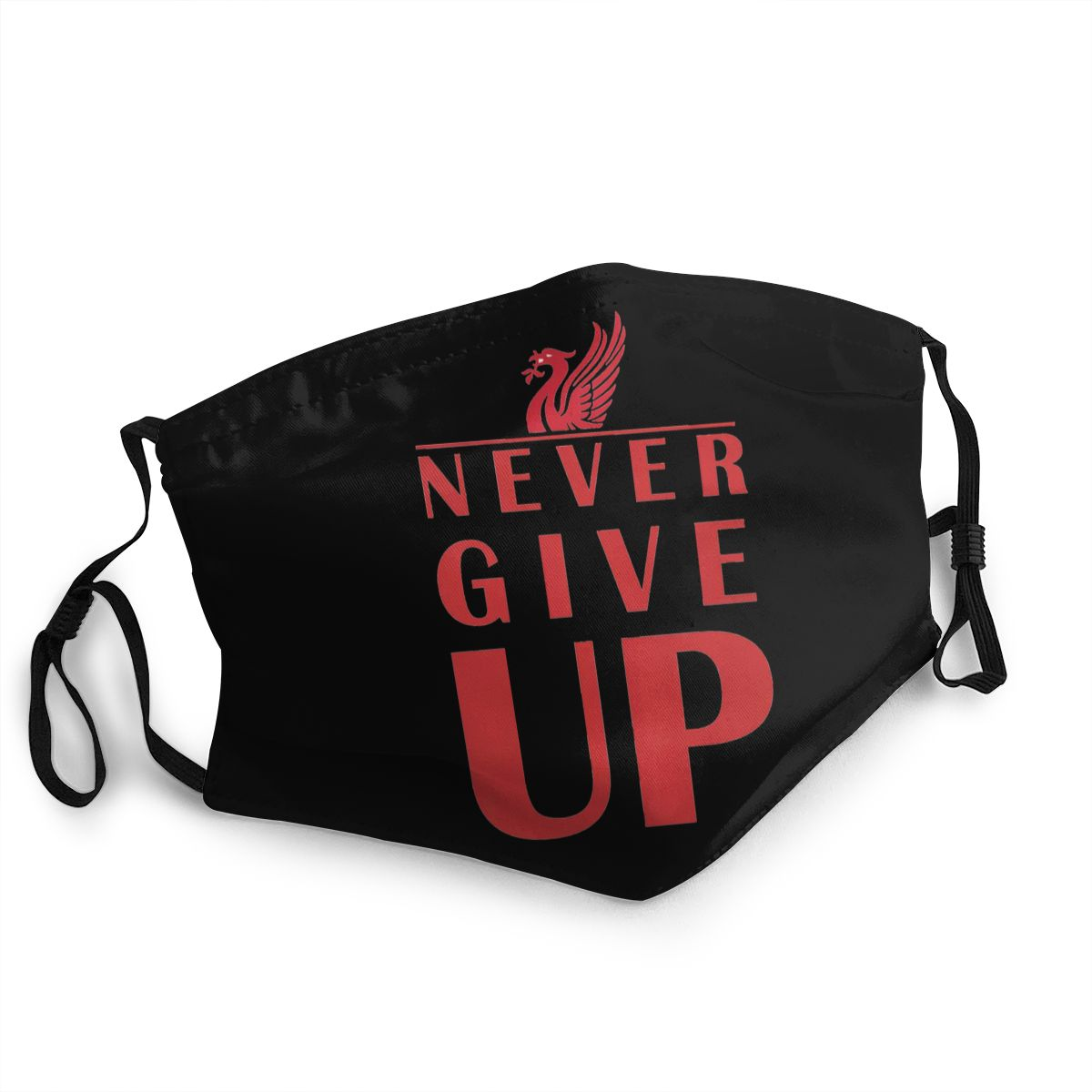 Anti-Dust Never Give Up Mouth Mask Liverpool Masks