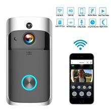 Умный дверной звонок с wi fi и беспроводной связью видеоглаз