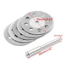 2020 nouveau 5 pièces Diamonte disque de coupe meule perceuse circulaire scie lame bois outil