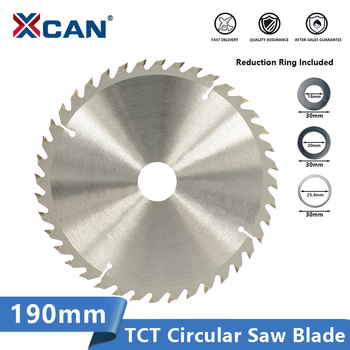 цена на XCAN Wood Saw Blade Tungsten Carbide Tipped Wood Cutting Disc 190x30mm 20 24 40 Teeth Circulaw Saw Blade