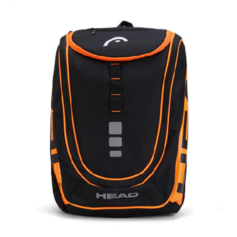 Head Tennis Racket Bag Badminton Tennis Backpack With Independent Shoes Bag For 1-2 Rackets Adults Men Sports Accessories