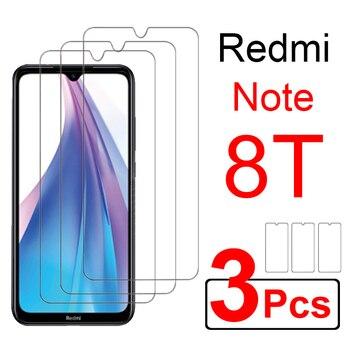 Перейти на Алиэкспресс и купить 3 шт. Защитное стекло для xiaomi redmi note 8 t 8pro redmi 8a Защитная пленка для экрана redme note 8 t pro redmi8 a закаленное стекло