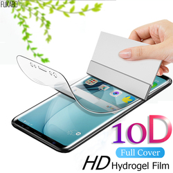 10D Front Back Hydrogel Film For Oneplus 8 7 7t Pro 6 6t Full Cover Screen Protector For One plus 7t 8 7 Pro Clear Not Glass