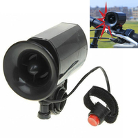 6 sound Bike Bicycle Super Loud Electronic Siren Horn Bell Ring Alarm Speaker Bicycle Accessories